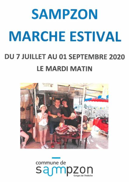 MARCHE ESTIVAL SAMPZON